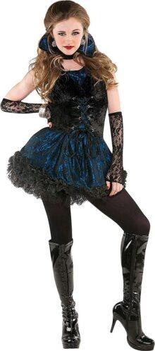 Amscan 8400700 - Disfraz de vampiro para adulto (talla S), color negro