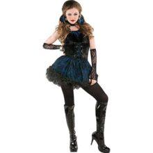 Amscan 8400701 - Disfraz de vampiro medianoche para adulto, color negro