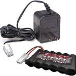 danchee 7.2V 800 mAh Ni-Mh batería y Cargador para Trail Hunter 1/12th Escala Control Remoto Rock Crawler
