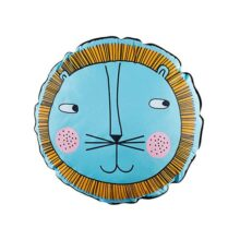 Fdit Almohada para Niños Niños Cojín Baby Decoración para Hogar Sofá(Blue Lion)
