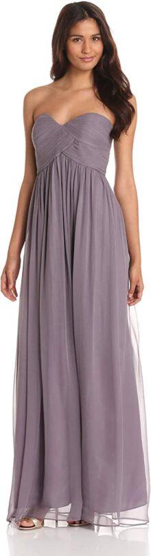 Donna Morgan Lauren Sweetheart - Vestido de Gasa para Mujer