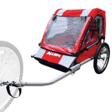 Allen acero deportes remolque para bicicleta