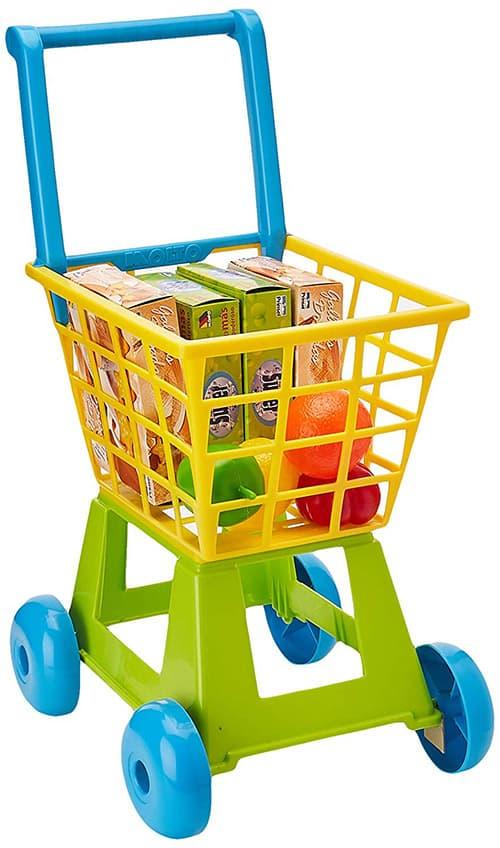 Prinsel Carrito de Compras Shopping Trolley, Verde/Azul