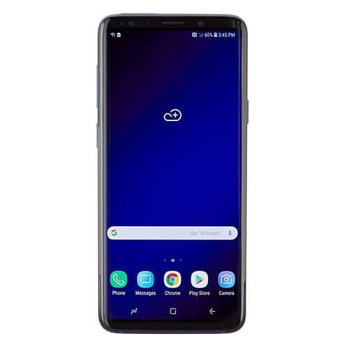 Smartphone Samsung Galaxy s9+ aZul coral nuevos desbloqueados originales