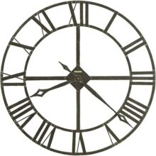 Howard Miller 625423 Reloj de Pared, Color Gris, Pack of/Paquete de 1