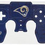 Skinit Calcomanía con efecto gastado y diseño de la NFL para el control de la consola Sony PlayStation 4 / PS4 DualShock 4