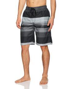 Kanu Surf Echelon Stripe - Bañador Corto para Hombre, Secado rápido, para Playa