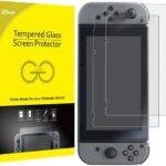JETech Protector de Pantalla Nintendo Switch 2017, Vidrio Templado, 2 Unidades
