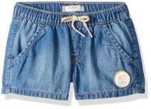 Roxy Timeless Denim Jean - Pantalones Cortos para niña