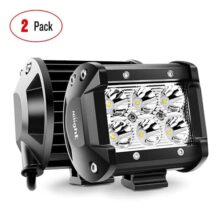 Nilight, Luces LED Spot Driving, Jeep SUV, 2 Piezas