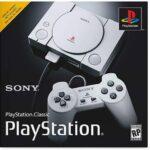 Consola Sony PlayStation Classic 20 juegos 2 Controles -Gris