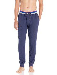 Champion - Pantalones de Dormir para Hombre con puños Acanalados
