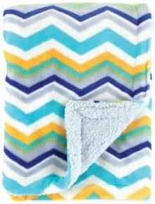 Hudson Baby Double Layer Blanket, Azul, Una talla
