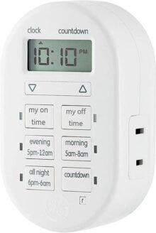 Sistema de cronómetro interior myTouchSmart, 1 salida polarizada, configuración sencilla, 1 paquete, Blanco