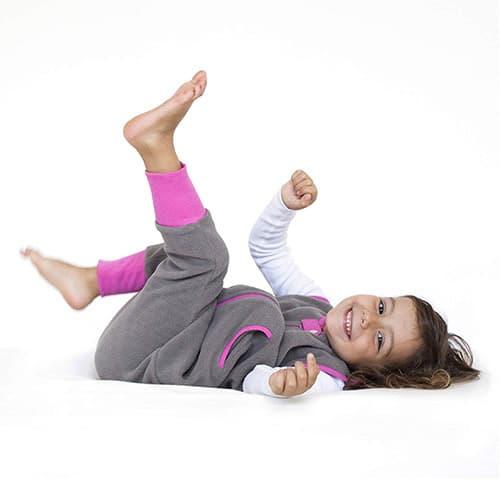 Baby Deedee Sleep Kicker Saco de dormir con abertura para los pies, talla 2-4, color gris pizarra