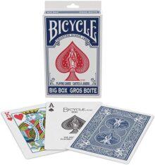 Tarjetas de Juego para Bicicleta Big Box – Azul Big Box