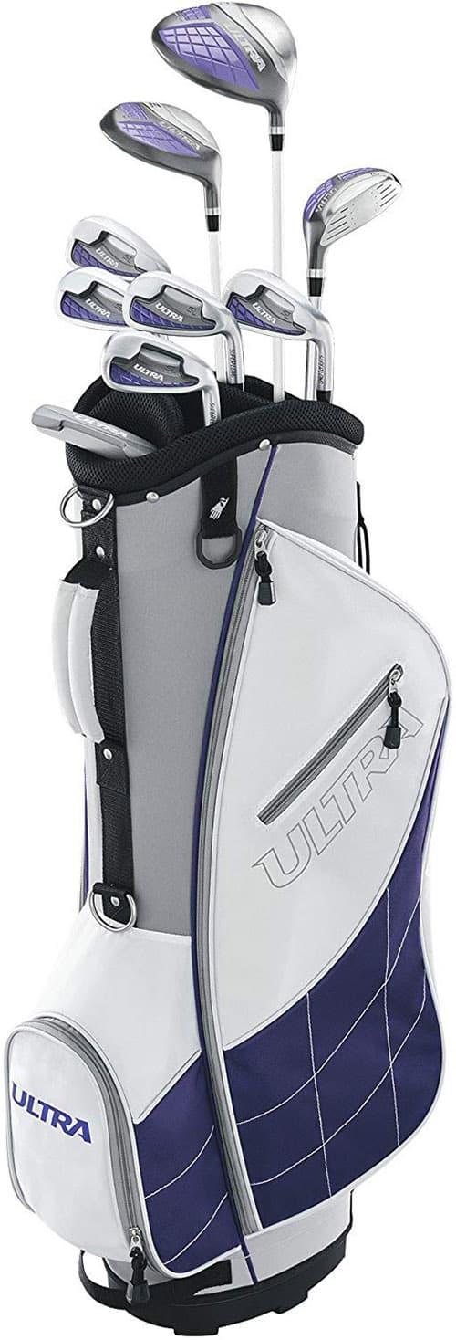 Wilson Golf Ultra - Conjunto de Golf para Mujer (Mano Derecha), Color Blanco