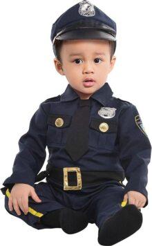 Amscan Cop Recruit - Disfraz para bebé