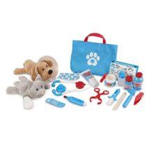 Melissa & Doug Set de Accesorios de Veterinario Para Examinar y Tratar Mascotas para Juego Imaginativo, Juego de Desarrollo, Juego de Simulación (24 Piezas)
