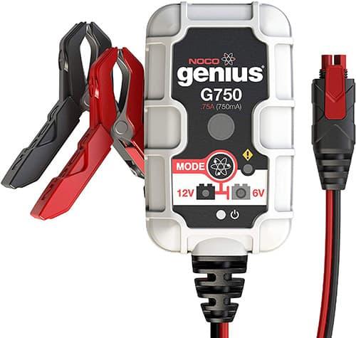 Pro Series UltraSafe Cargador de baterías inteligente, Gris, .75 Amp