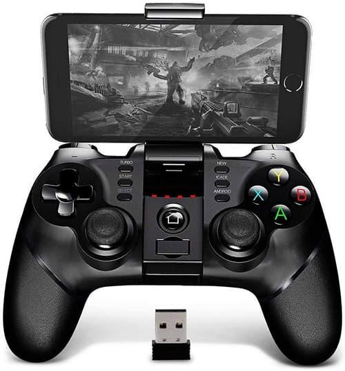 BINDEN PG-9076 Control Inalámbrico para Smartphone, PS3, Tablet, Emulador, Windows, Función Turbo, 12 Horas de Juego