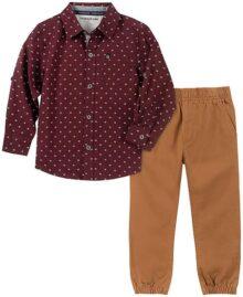 Calvin Klein - Conjunto de 2 Pantalones de Camisa para bebé
