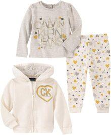Calvin Klein - Conjunto de 3 Pantalones para niña