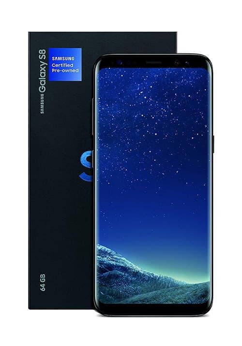 """SAMSUNG Galaxy S8 - Teléfono de fábrica con Certificado de fábrica (Pantalla de 5,8"""", 64 GB), Color Negro"""