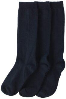 Jefferies Socks - Calcetines hasta la rodilla para niña (3 unidades)