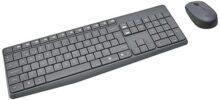 Logitech - MK235 - Combo de Mouse y Teclado Inalámbricos - Negro