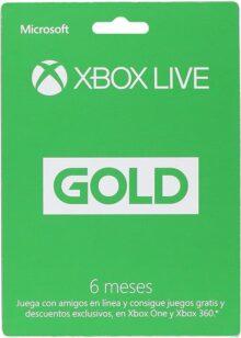 XBox Live Gold Membresía 6 Meses - 6 meses Edition