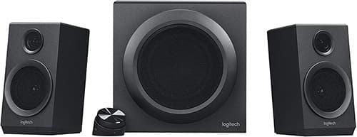 Logitech - Z333 - Sistema de Audio 2.1 - Negro