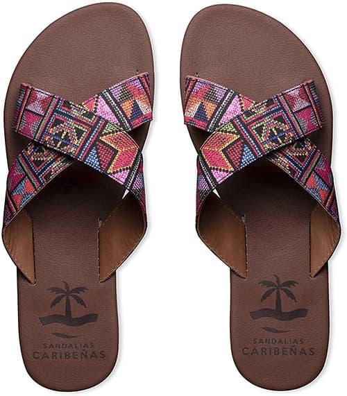 Sandalias Caribeñas para Mujer Modelo Cozumel