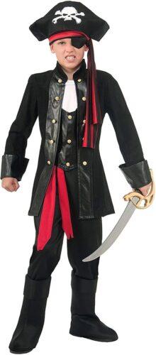 Forum Novelties disfraz de pirata de siete mares para niños, Pirata, Multicolor, Pequeño