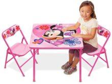 Jakks Pacific Juego de Mesa de Actividades Minnie con 2 sillas