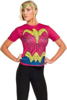Rubie's Batman V Superman: Dawn of Justice Wonder Woman - playera para mujer