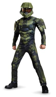 Boys Master Chief Classic Muscle Costume