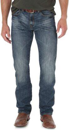 Wrangler Jeans de Corte Recto para Hombre