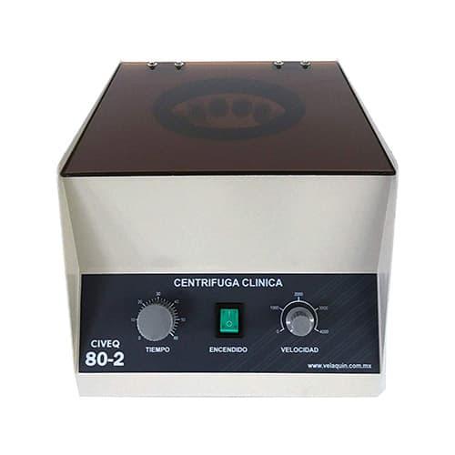 Civeq Centrifuga Clinica Para 12 Tubos Mod 80-2, 4000 Rpm, Ideal Para Prp