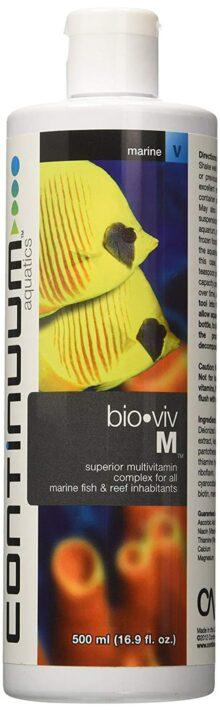 Continuum Aquatics ACO30593 Bio Viv M Vitaminas Marinas para Acuario, 16.9 onzas
