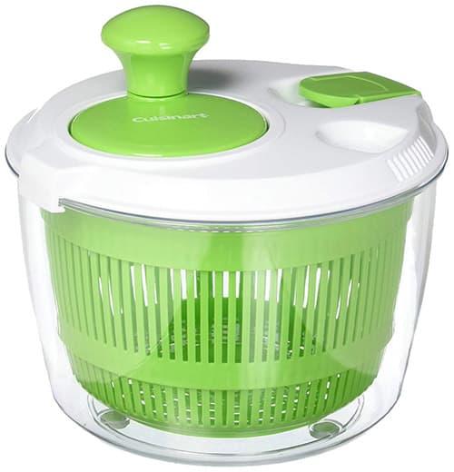 Cuisinart ctg-00-ssas centrifugador de ensalada, verde
