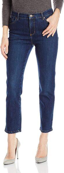 Gloria Vanderbilt Petite Amanda Classic - Jeans cónicos para Mujer