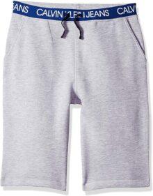Calvin Klein pantalón Corto Deportivo con Logo Grande y Cintura para niños