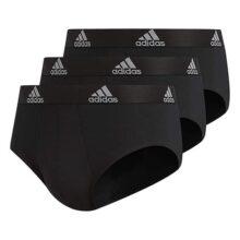 Adidas - Ropa Interior de algodón elástico para Hombre (3 Unidades)