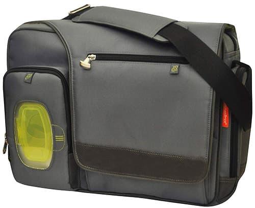 Fisher Price Fisher Price Fastfinder Deluxe Messenger Bag, Grey