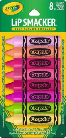 Lip Smacker Crayola lip balm party pack, 0.45 Fluid Ounce