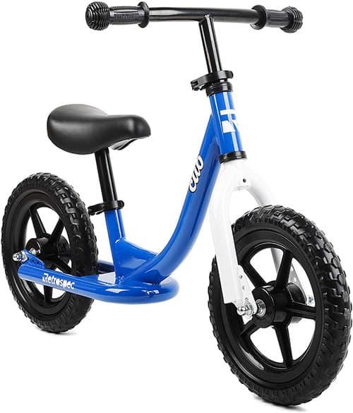 Retrospec Cub Balance Bike No Pedal Kids Bicycle, Royal Blue