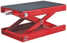 Extreme Max 5001.5044 Wide Motorcycle Scissor Jack - 1100 lb.