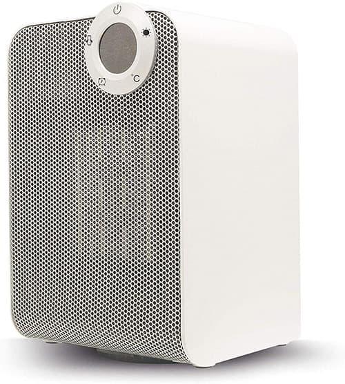 Calefactor Inteligente WiFi Compatible con Alexa y Asistente de Google, Calentador Portátil con Oscilación de 45°, Rango de Temperatura de 15° a 35°, Controla con tu Smartphone (iOS y Android), Programa Timers y Horarios de Encendido y Apagado, Crea Rutinas Inteligentes
