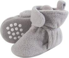 Luvable Friends - Botines de forro polar para bebé con fondo antideslizante
